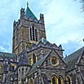 Christ Church Cathedral In Dublin by Alex Art and Photo