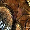 Christ Church Cathedral Roof Detail by Bob Christopher