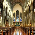 Christ Church Cathedral Victoria British Columbia by Bob Christopher