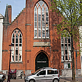 Christ Church Of England In Amsterdam by Artur Bogacki