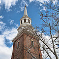 Christ Church Steeple by Kay Pickens