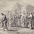 Christ Gives Advice To A Rich Young Man, Jan Luyken by Jan Luyken