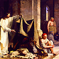 Christ Healing The Sick  by Don Kuing