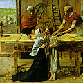 Christ In The House Of His Parents by John Everett Millais