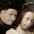 Christ Mocked The Crowning With Thorns by Hieronymus Bosch