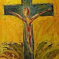 Christ On The Cross by Dave Brown