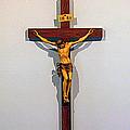 Christ On The Cross by Hugh Carino