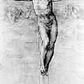 Christ On The Cross by Michelangelo Buonarroti