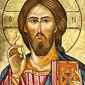 Christ Pantocrator by Dragica  Micki Fortuna
