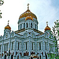 Christ The Savior Cathedral In Moscow-russia by Ruth Hager