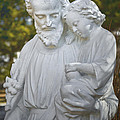 Christ With Child by Les Palenik