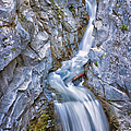 Christine Falls In Mount Rainier National Park by Adam Romanowicz