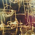 Christmas Abstract V by Marco Oliveira