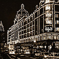Christmas At Harrods Department Store - London by Daniel Hagerman