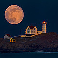 Christmas At Nubble by Dale J Martin