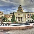 Christmas At Sugar Land City Hall by David Morefield