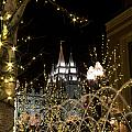 Christmas At Temple Square 11 by Alan Nix