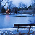 Christmas At The Pond by HW Kateley