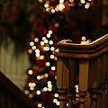 Christmas Banister 1 by Linda Shafer