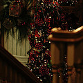 Christmas Banister 2 by Linda Shafer