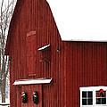 Christmas Barn 2 by Linda Shafer