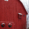 Christmas Barn 4 by Linda Shafer