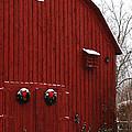 Christmas Barn 5 by Linda Shafer