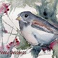 Christmas Birds 01 by Anne Duke