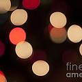 Christmas Bokeh Lights by Juli Scalzi