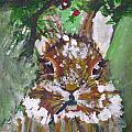 Christmas Bunny by Kimberly Maxwell Grantier