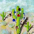 Christmas Cactus by Laurie Morgan