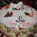 Christmas Cake by Augusta Stylianou