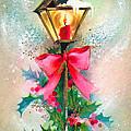 Christmas Candle by Munir Alawi