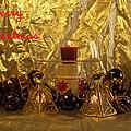 Christmas Candles by Bob Johnson