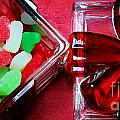 Christmas Candy - Candy Dish - Sweets - Treats by Barbara Griffin