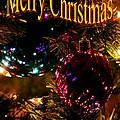 Christmas Card 3 by Maria Urso