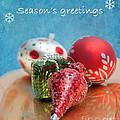 Christmas Card 6 by Betty LaRue