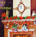 Christmas Card by Irina Sztukowski