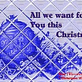 Christmas Cards And Artwork Christmas Wishes 54 by Gert J Rheeders