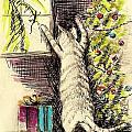Christmas Cat by David Francke