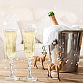 Christmas Champagne by Amanda Elwell