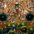 Christmas Chandelier by Jolanta Anna Karolska