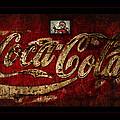 Christmas Coca Cola 1881 Santa by John Stephens
