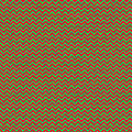 Christmas Colors Chevron by Cassie Peters