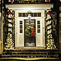 Christmas Door 2 by Betty Denise