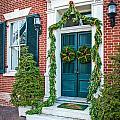 Christmas Door 6 by William Krumpelman