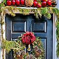 Christmas Door 8 by William Krumpelman