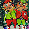 Christmas Elves by Patricia Arroyo
