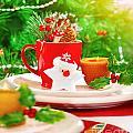 Christmas Eve Table Setting by Anna Om
