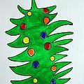 Christmas Fir-tree by Khromykh Natalia
